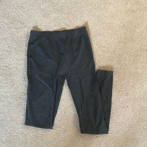 Pants - Poo grey sleek leggings size s/m